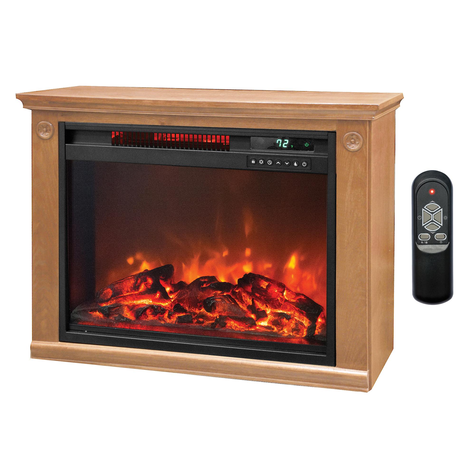 Astounding Lifesmart Large Room Infrared Fireplace Heater Machost Co Dining Chair Design Ideas Machostcouk