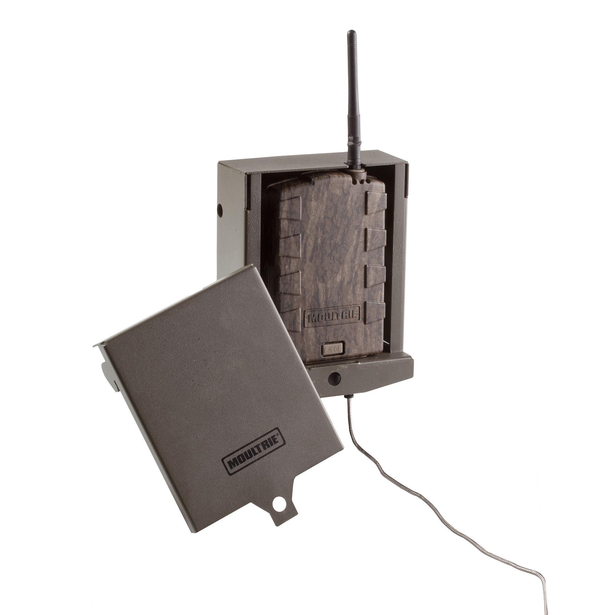 Moultrie Mobile Wireless Field Modem Mv1 >> Moultrie Mobile Wireless MV1 Field Modem for Game Camera + Security Box Case