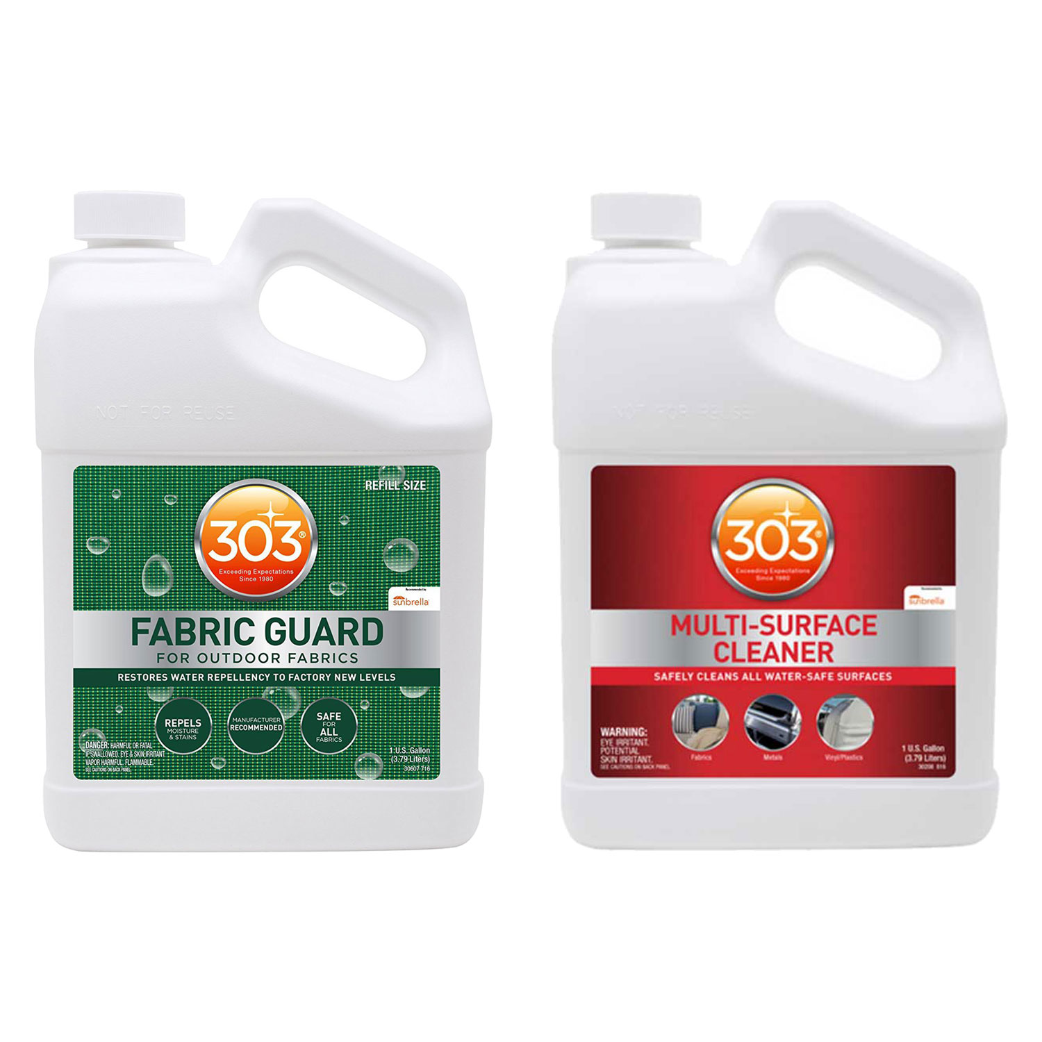 303 Fabric Guard Protector Spray 1 Gallon Multi Surface Cleaner