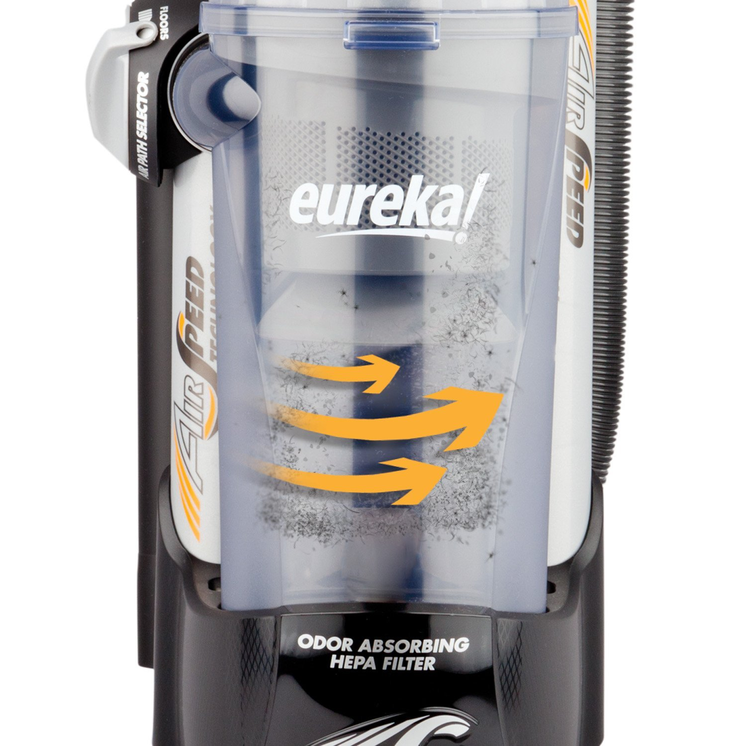 Eureka AirSpeed Pet Power Bagless Upright Vacuum With On