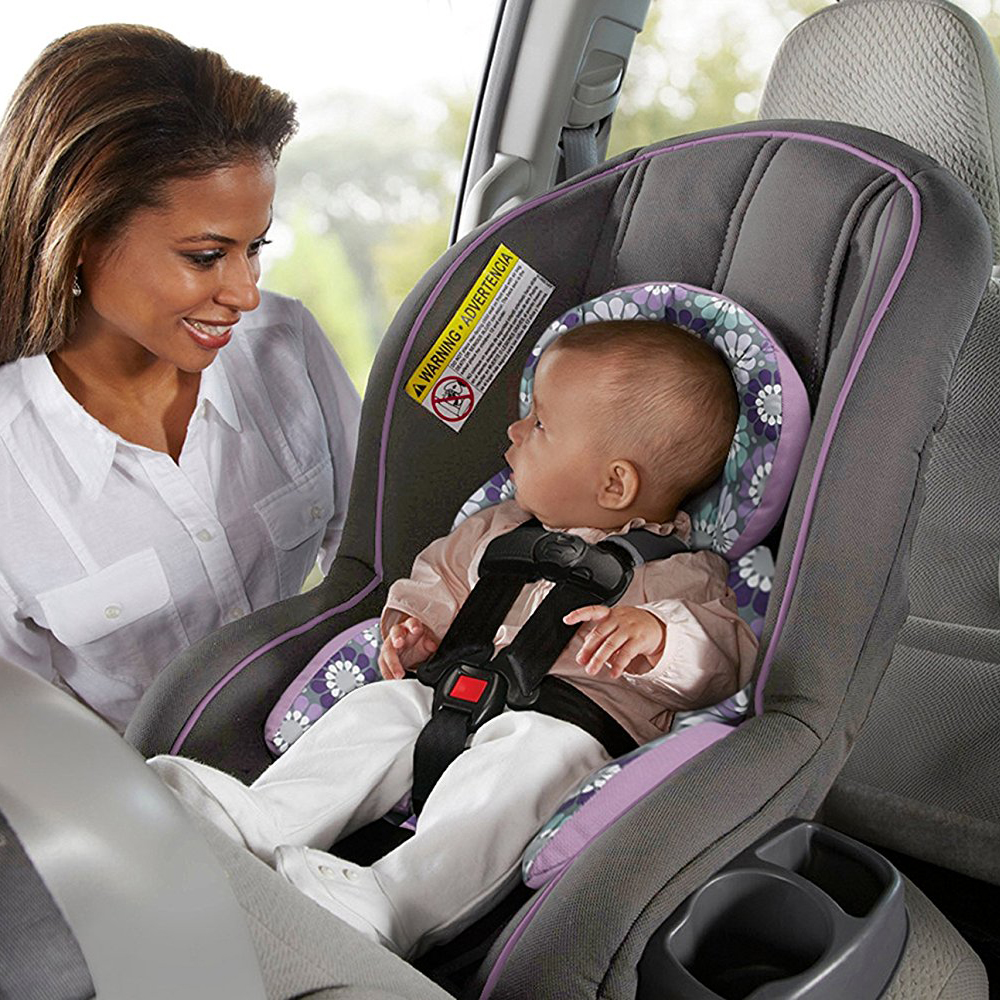 Graco Ready Ride Rear Forward Facing 5 Point Harness Convertible Car Seat Jeena 4 Of 7