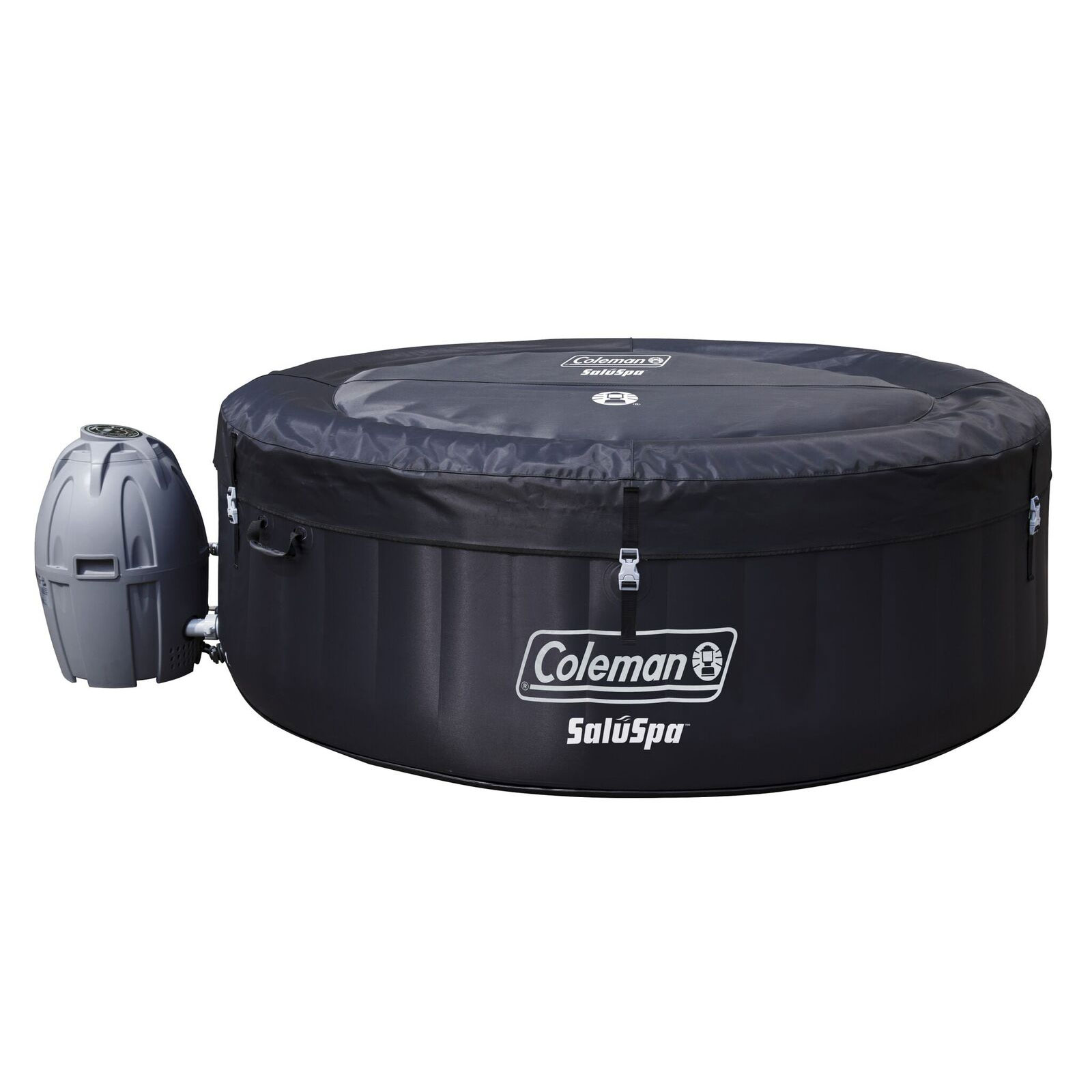 Portable Outdoor Kitchens: Coleman SaluSpa 4 Person Portable Inflatable Outdoor Spa