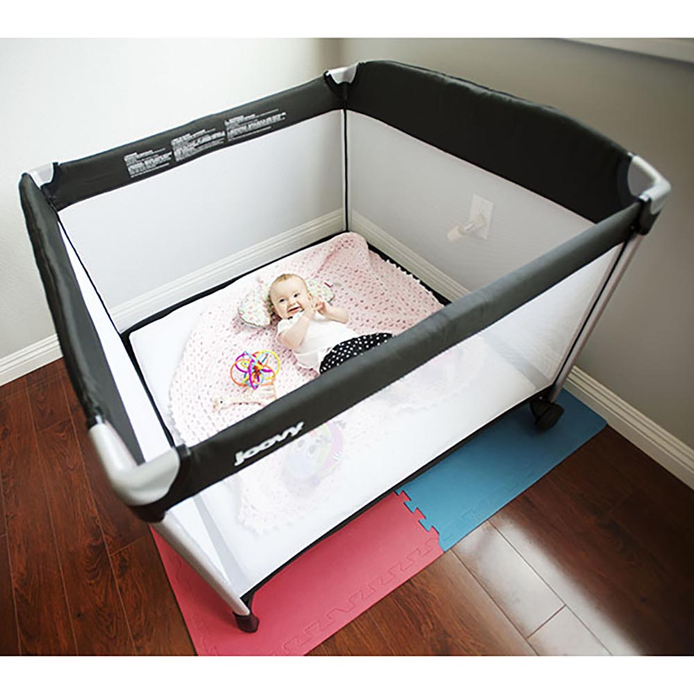 like crib much toddler playpen take travel pin travelpod but cribportable places a good portable easier to cribs