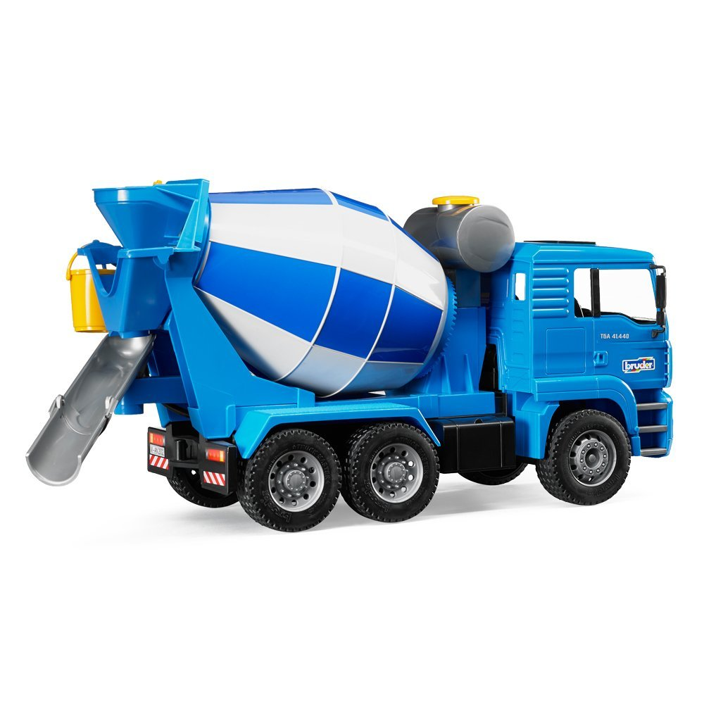 Mixer Truck Toy : Bruder toys man cement mixer with realistic turning mixing