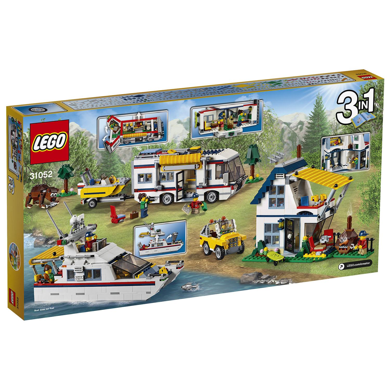 lego creator vacation getaway 3 in 1 camper summer home. Black Bedroom Furniture Sets. Home Design Ideas