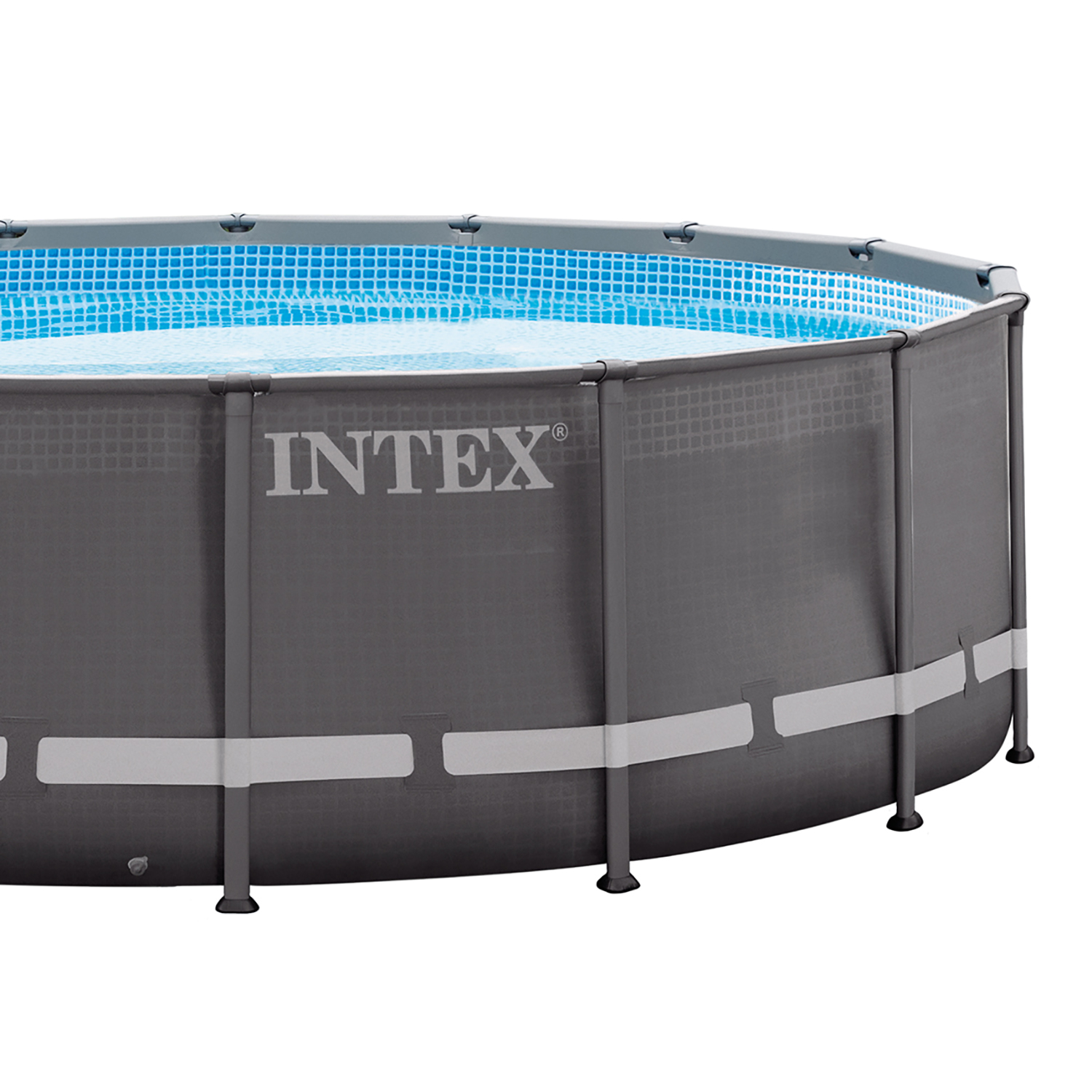 Intex 16 39 x 48 ultra frame swimming pool set w 1200 gph for Hagebau intex pool