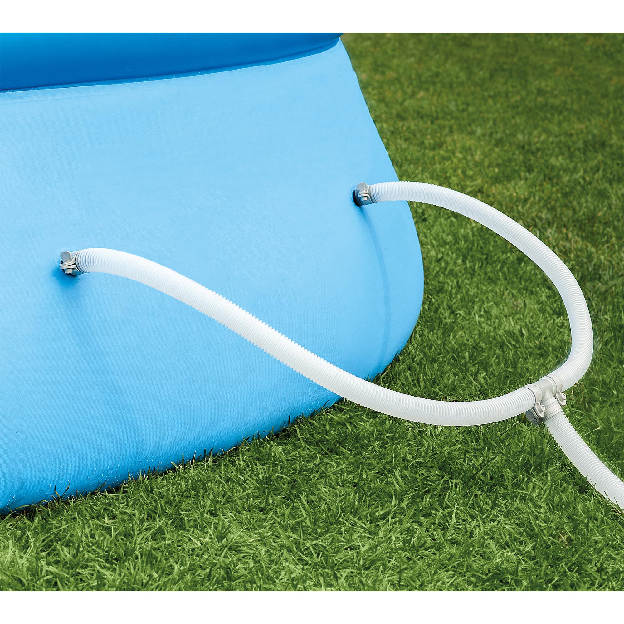 Intex 18 39 x 48 inflatable easy set above ground swimming for Inflatable above ground pools