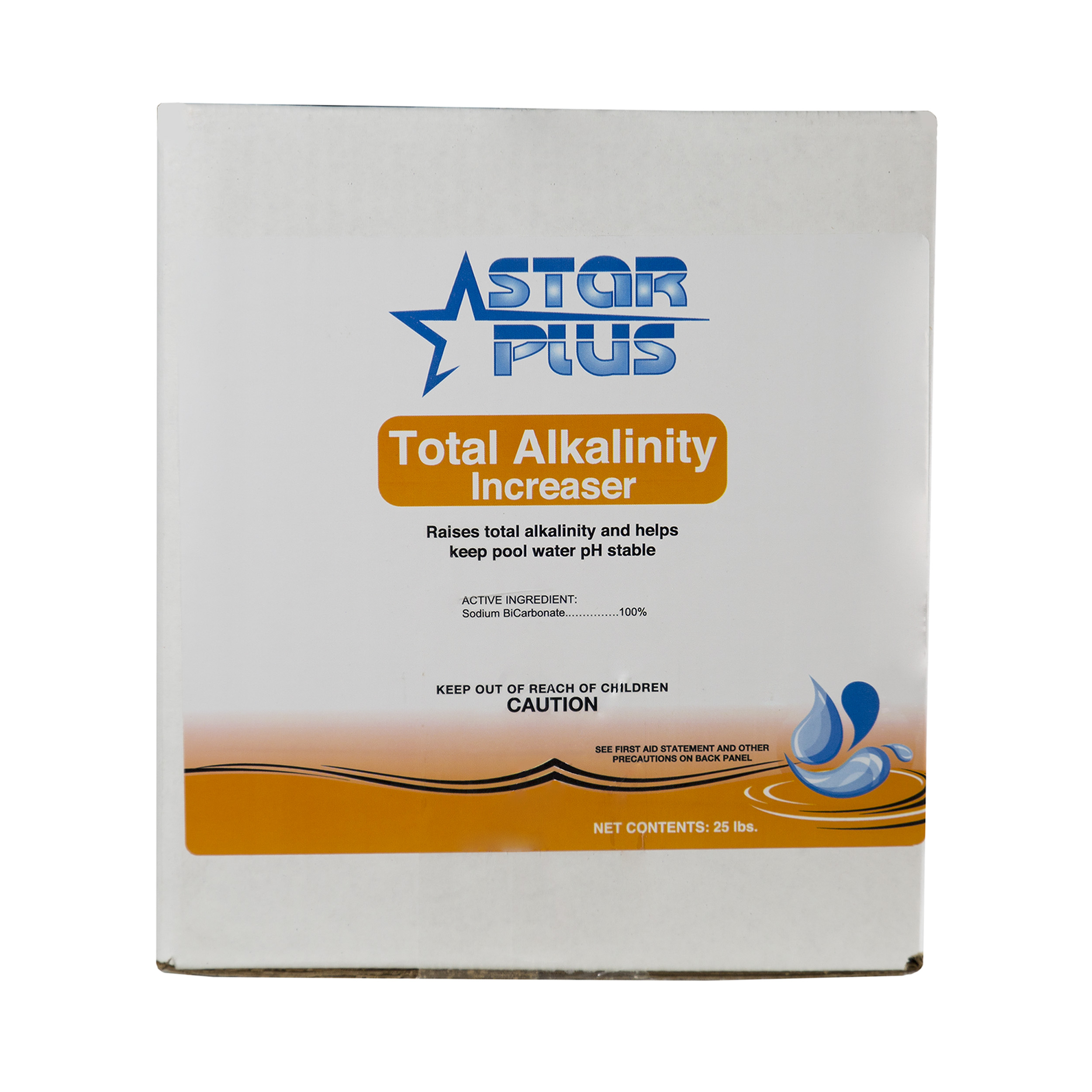 Star Plus Total Alkalinity Increaser Ph Stability For Swimming Pools 25 Pounds Ebay