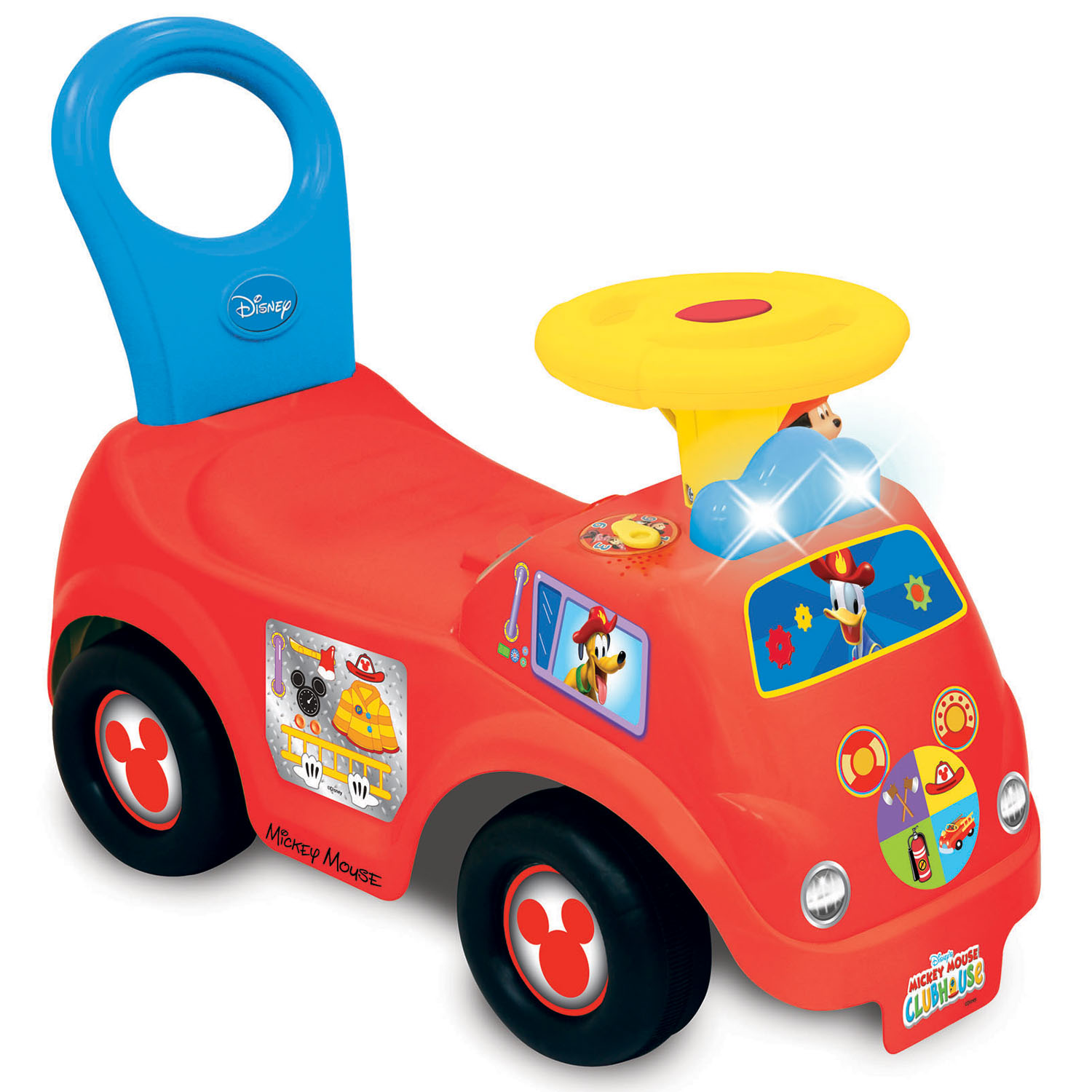 Kid land Light n Sound Mickey Activity Fire Engine Kid Toy Car