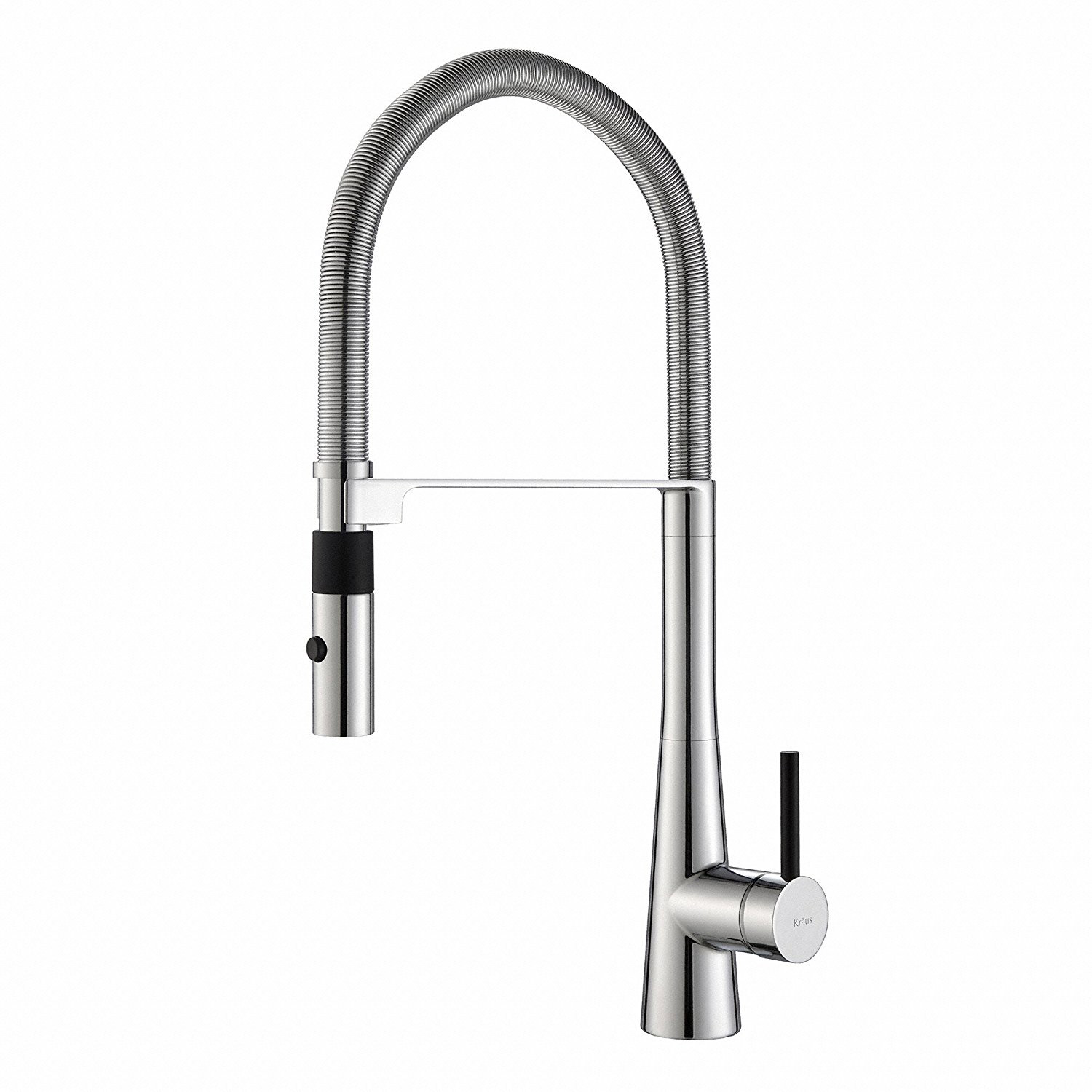 Kraus Crespo 20 Commercial Single Handle Kitchen Faucet W Pull