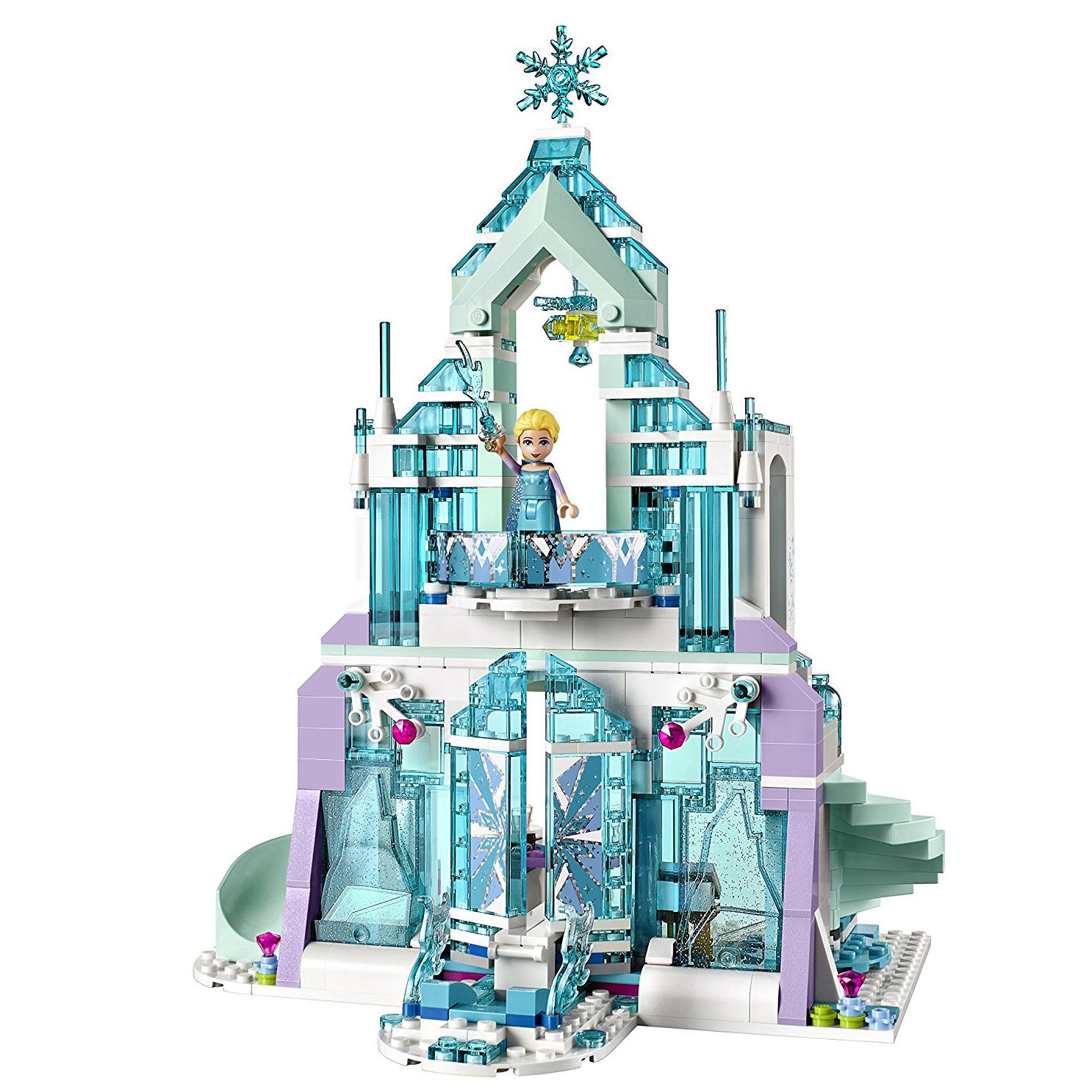 LEGO Disney Princess Elsa Frozen Magical Ice Palace Castle Building ...