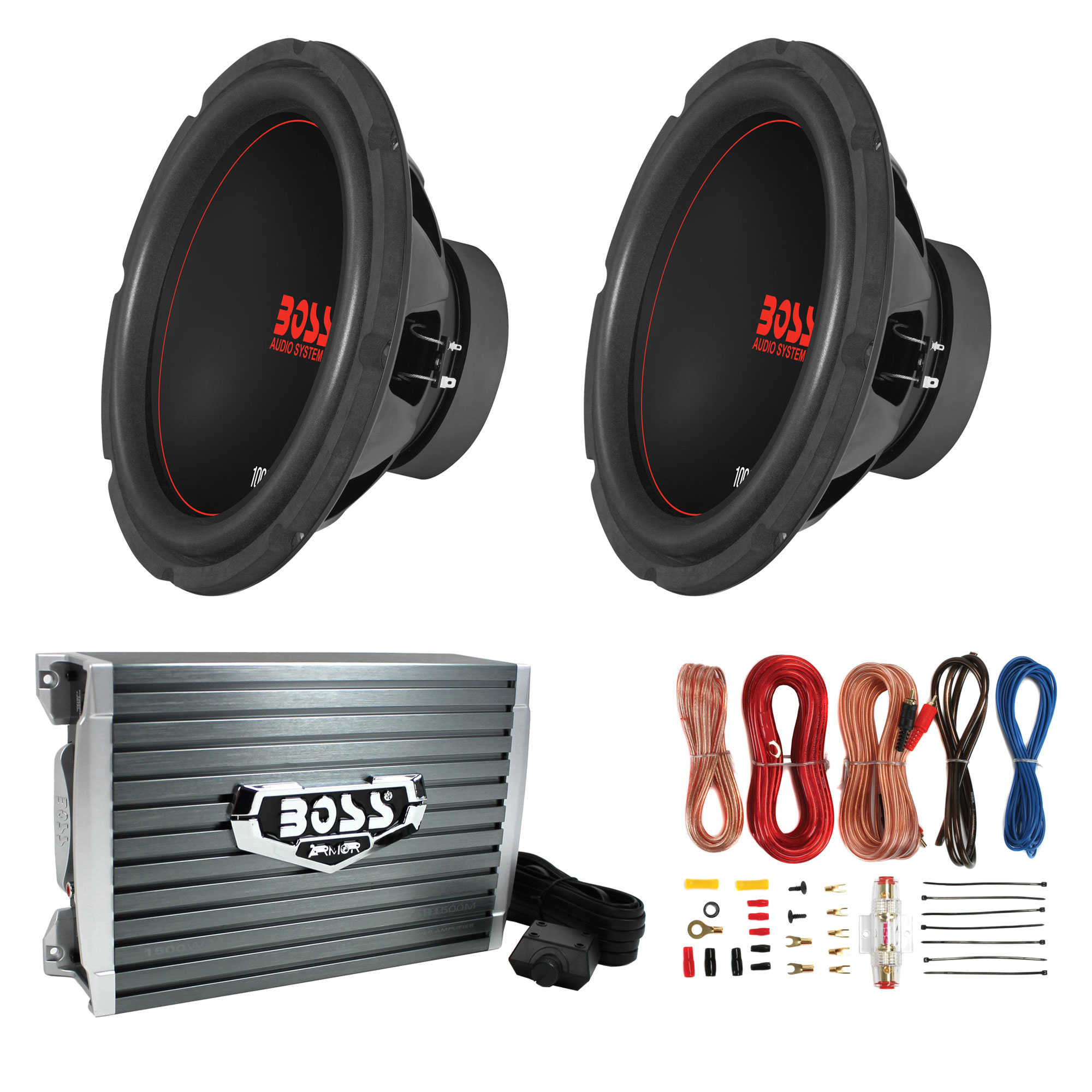 "Boss Chaos Exxtreme 10"" 1000W DVC 4 Ohm Subwoofer (Pair) W"