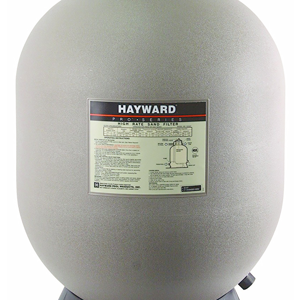 how to change the sand in a pool filter hayward