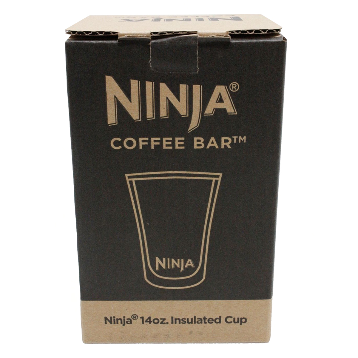ninja 14 oz microwave safe plastic double insulated cup for coffee bar 4 pack. Black Bedroom Furniture Sets. Home Design Ideas