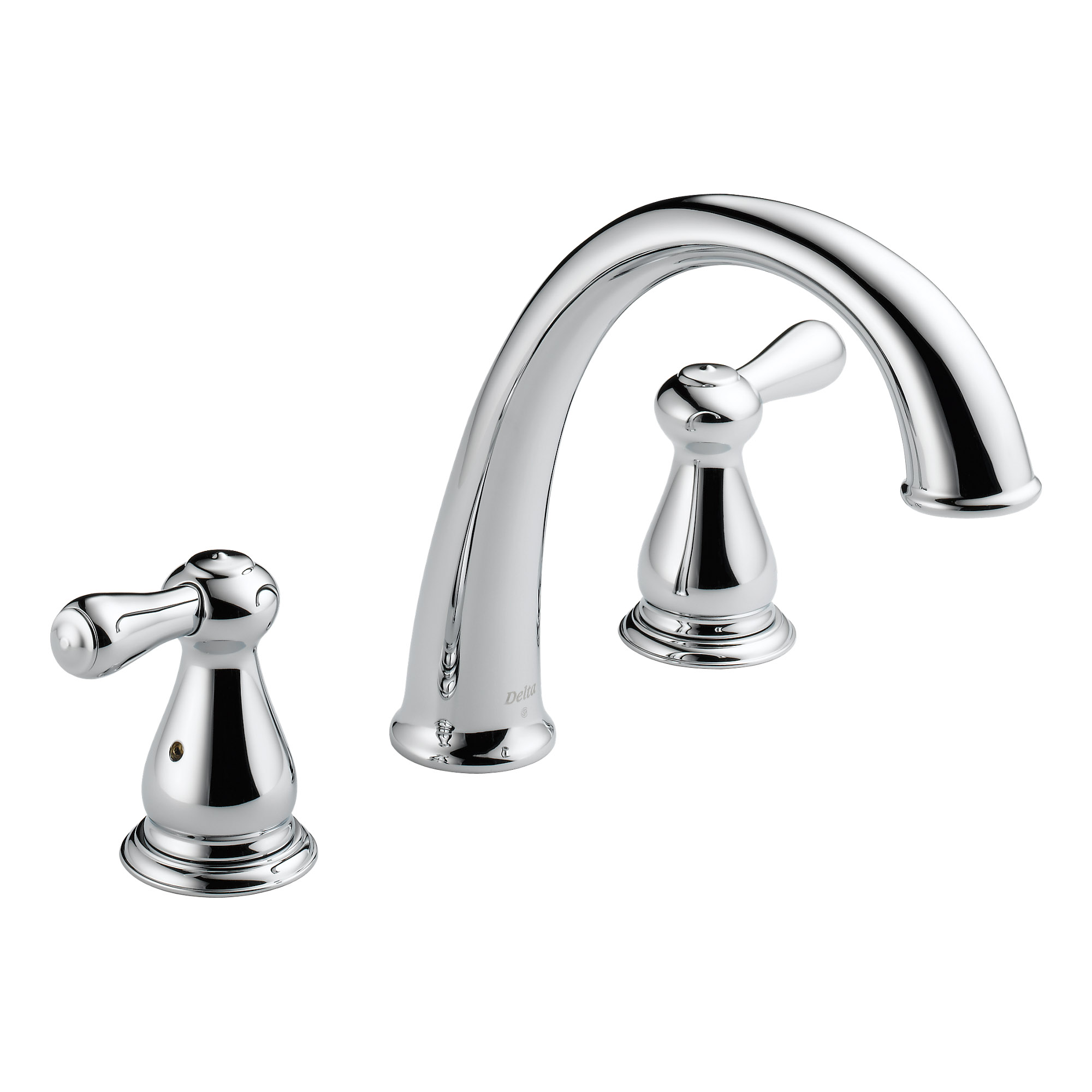 Delta Faucets Roman Two Handle Bathroom Tub Faucet Trim