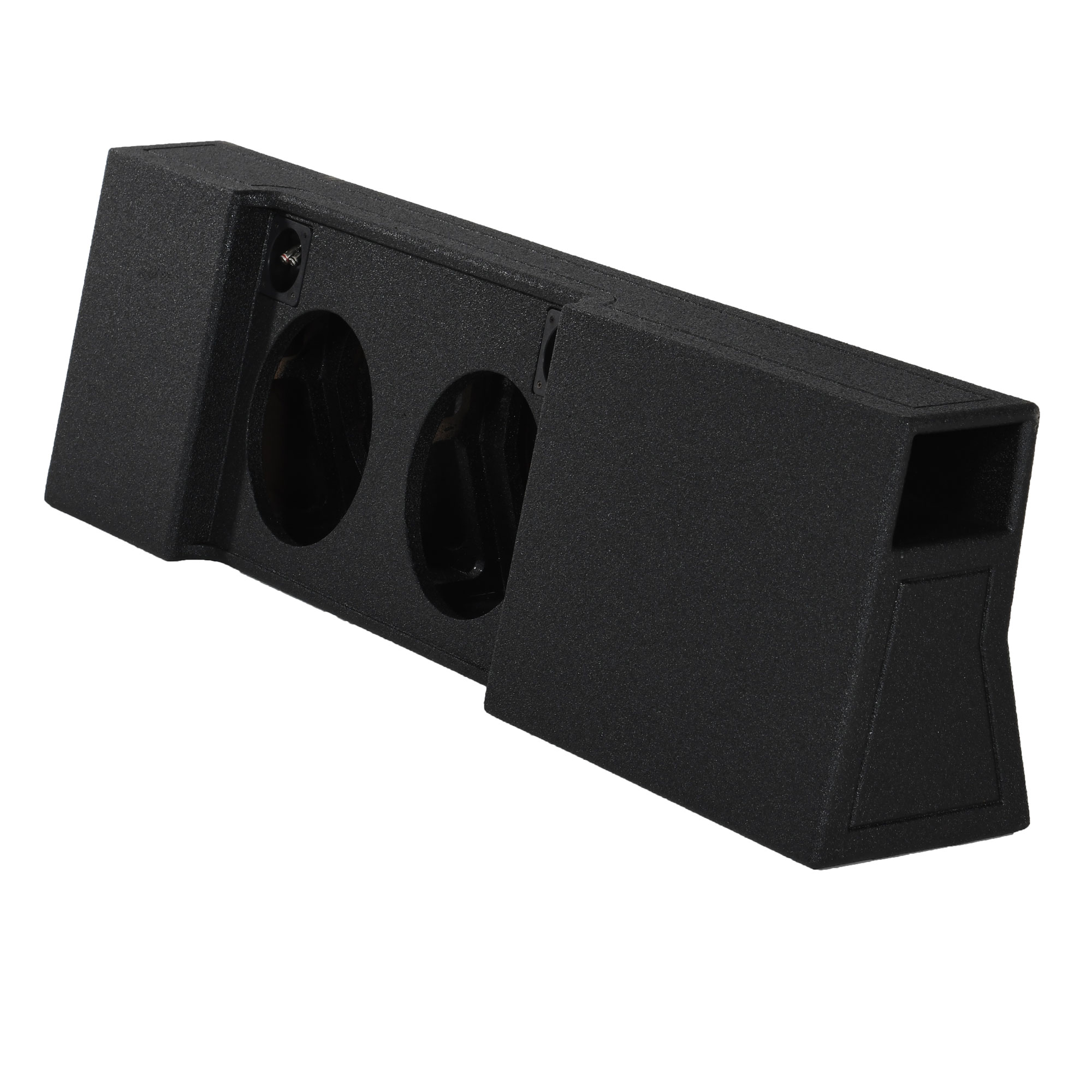 """PORTED Subwoofer Sub Box for 2012 Ford F150 Super Crew Cab Supercrew 1-12/"""""""