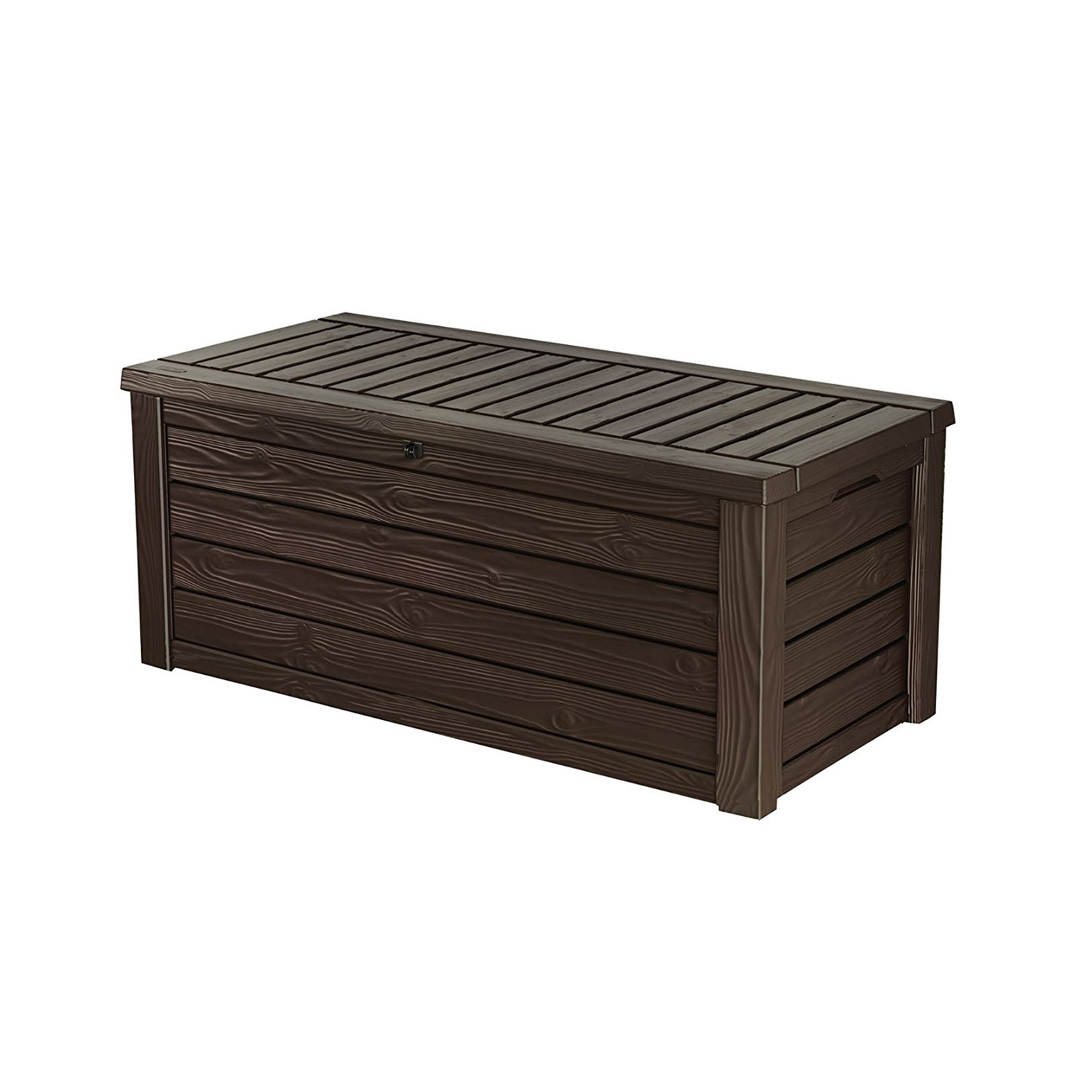 Keter Westwood 150 Gallon All Weather Outdoor Patio Storage Deck