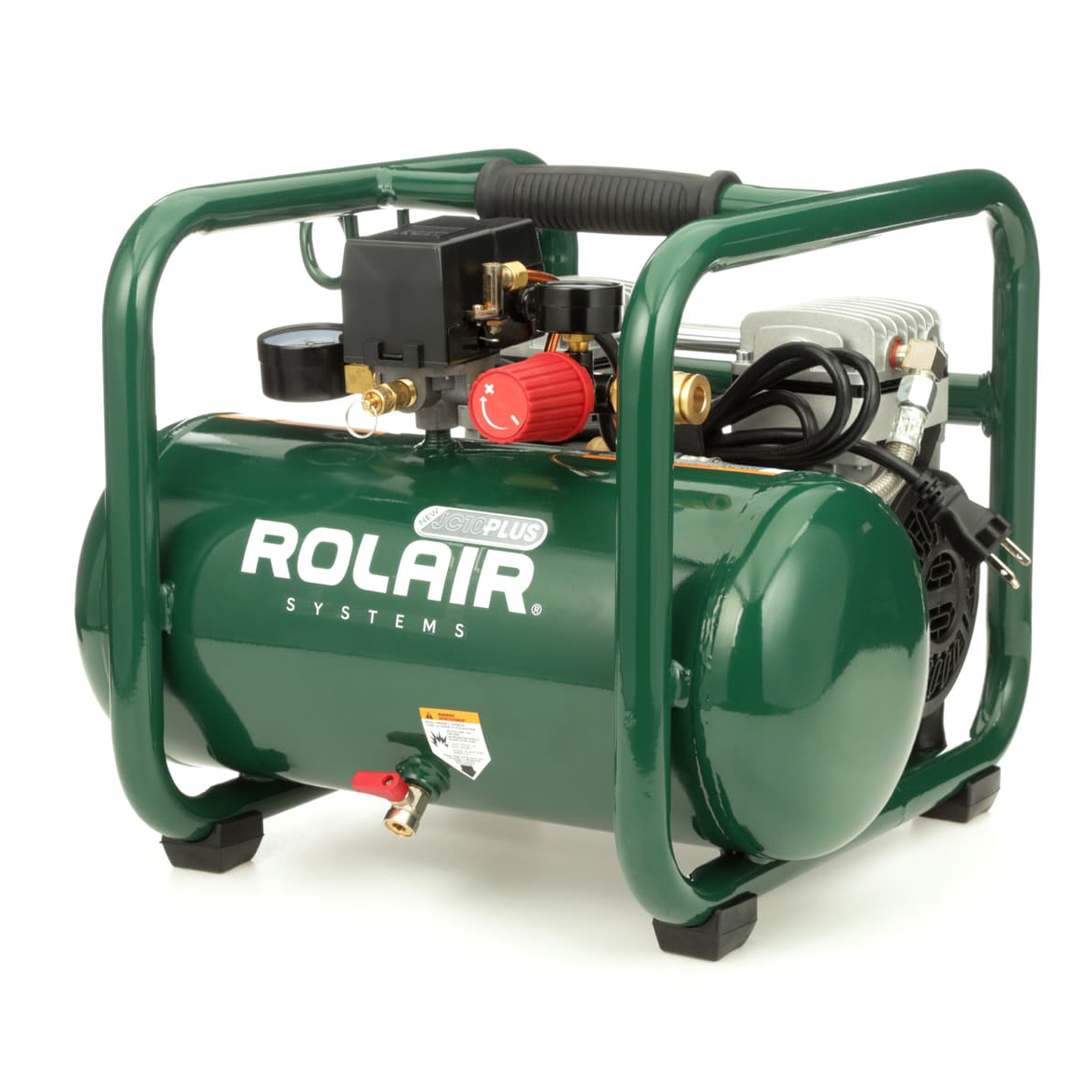 Electric Air Compressor >> Details About Rolair Jc10 Plus 2 5 Gallon Portable Electric Air Compressor For Tires And Tools