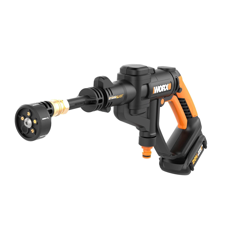 Worx Hydroshot 20v 320 Psi Cordless Pressure Washer Power