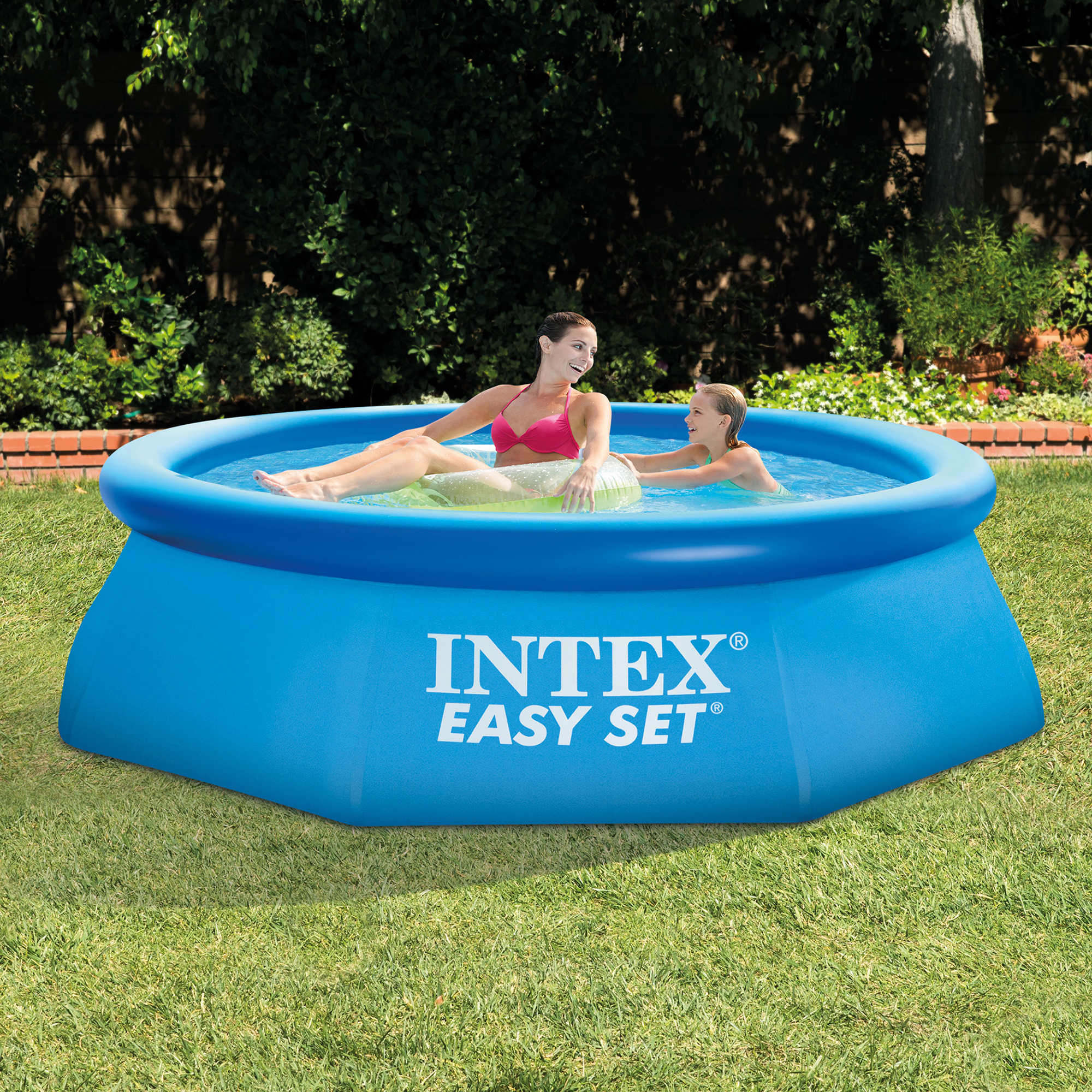intex 8 39 x 30 easy set swimming pool 330 gph gfci filter pump 28111eh ebay. Black Bedroom Furniture Sets. Home Design Ideas