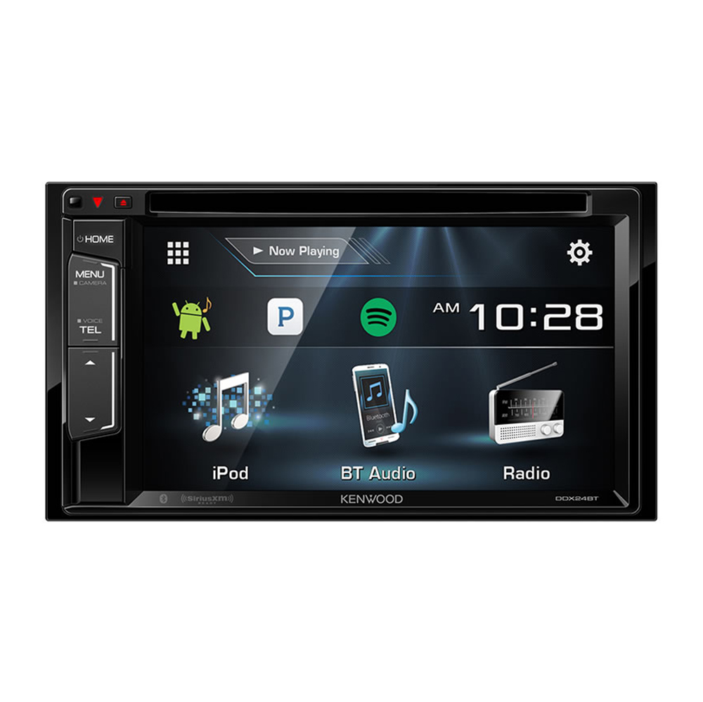 "Kenwood 6.2"" LCD Double DIN DVD/CD/AM/FM Bluetooth In-Dash"