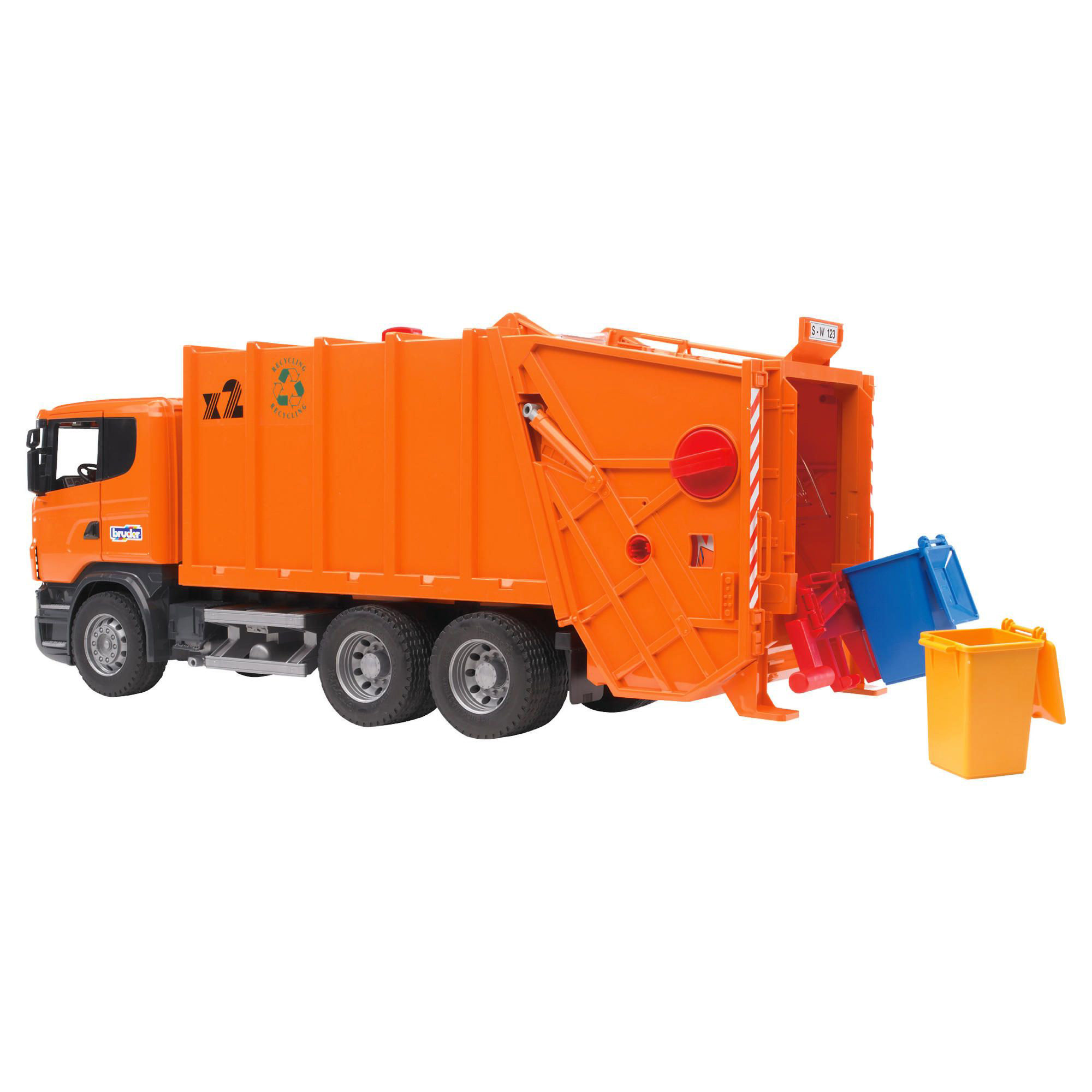 Bruder Construction Toys For Boys : Bruder toys construction car scania r series garbage truck