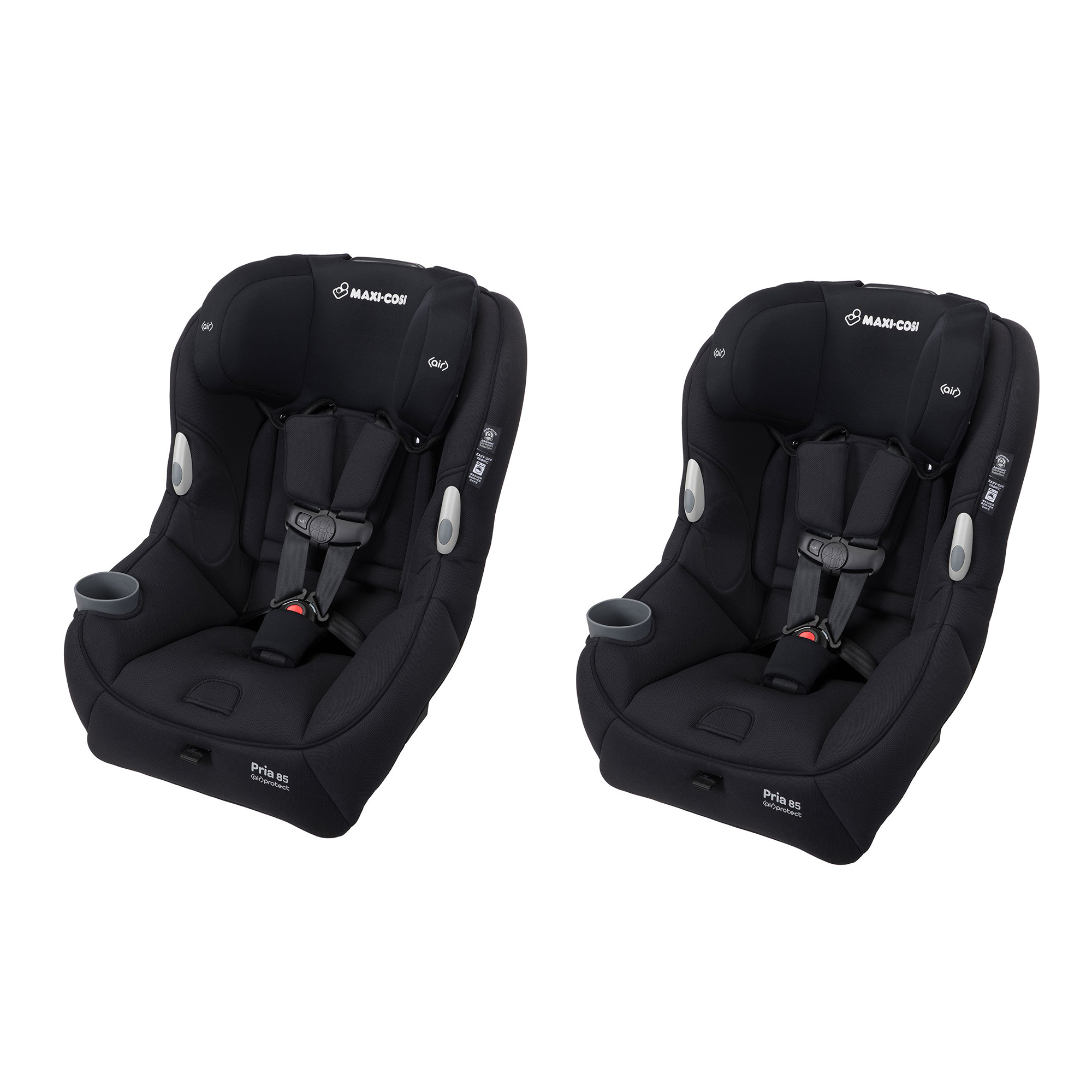 Details About Maxi Cosi Pria 85 Convertible 14 Lb Infant Child Car Seat Black 2 Pack