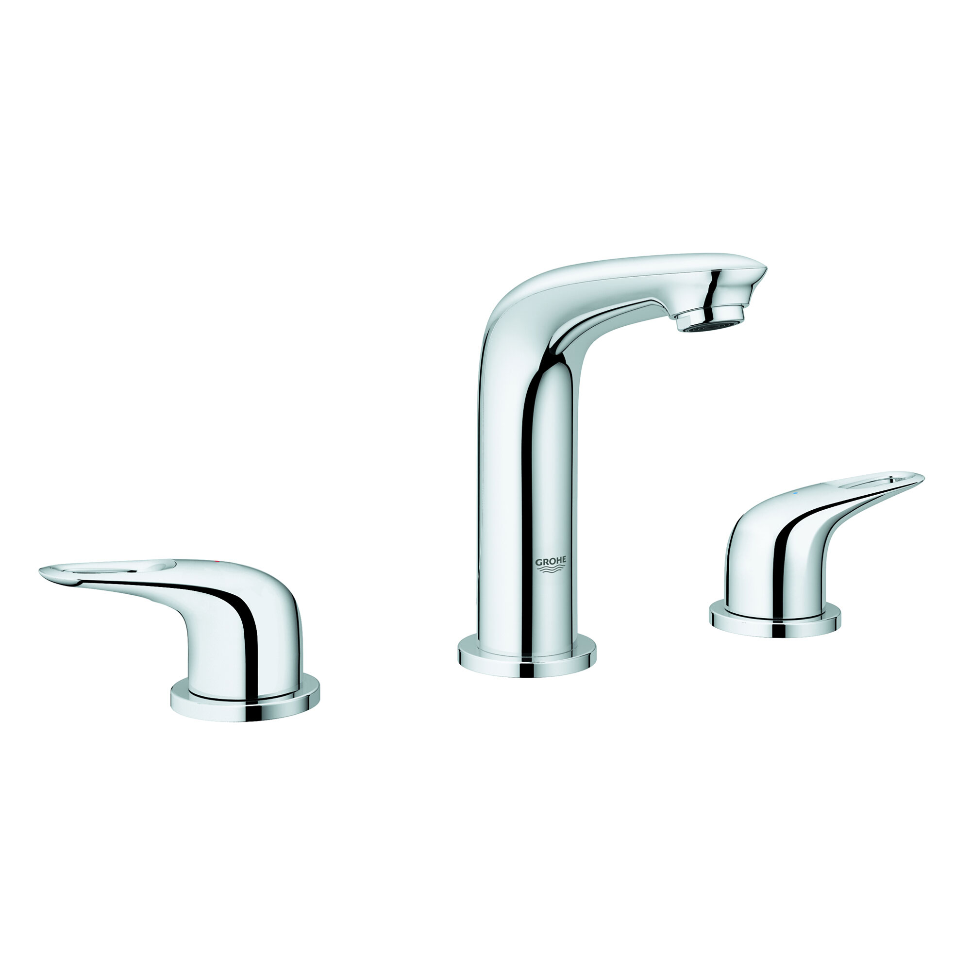 "Grohe 20486003 Eurostyle 8"" Widespread 2 Handle 3 Hole ..."