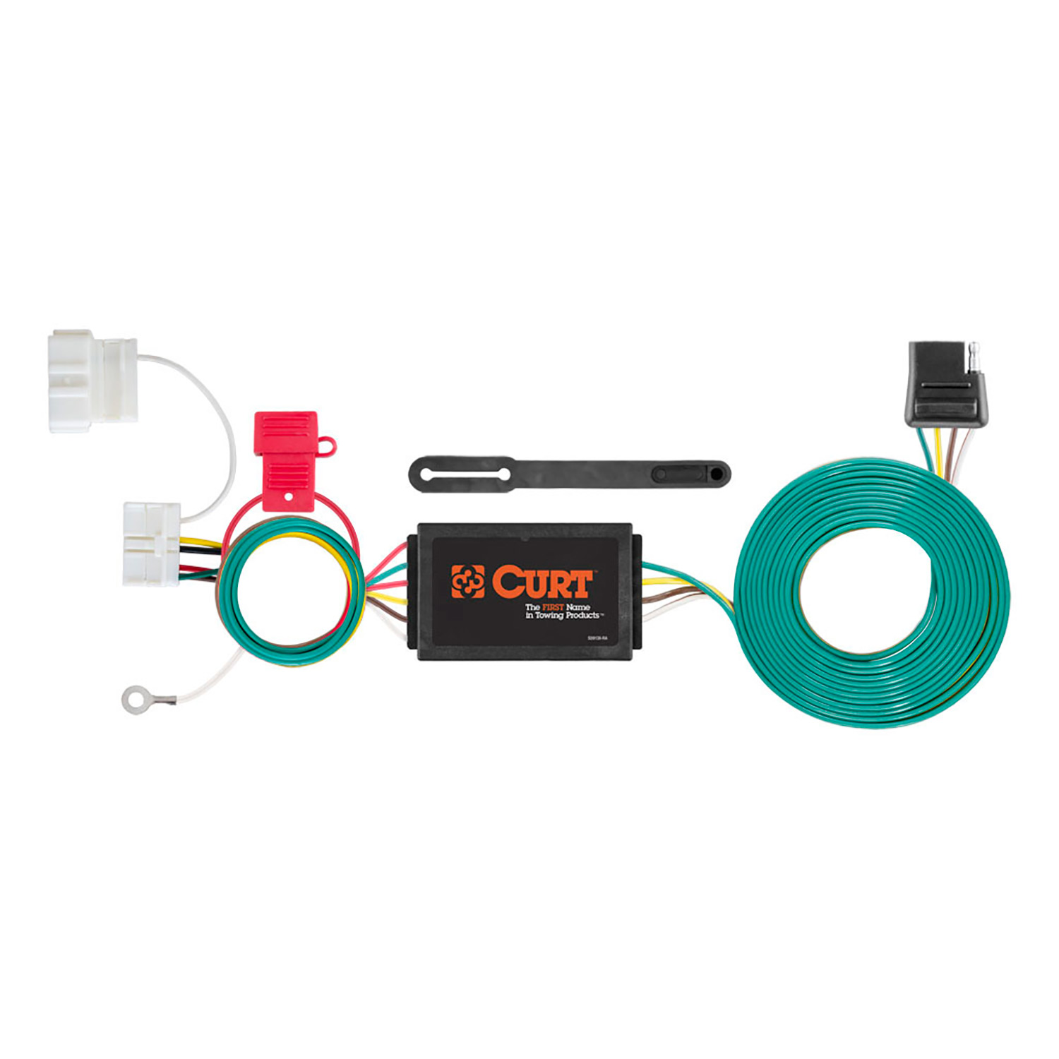 Curt T Connector Vehicle To Trailer Custom Wiring Harness For Honda Hitch No Converter 4 Flat Fit Odyssey