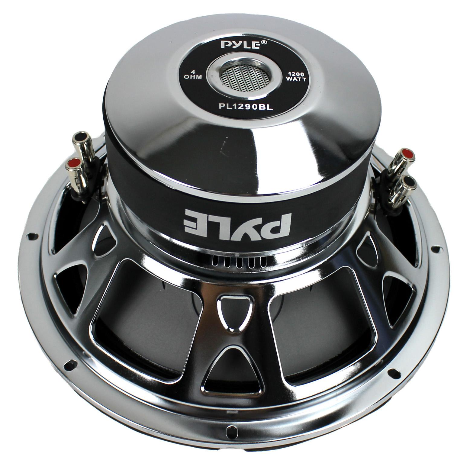 Pyle 12 Inch 1200 Watt DVC Blue Power Stereo Car Audio