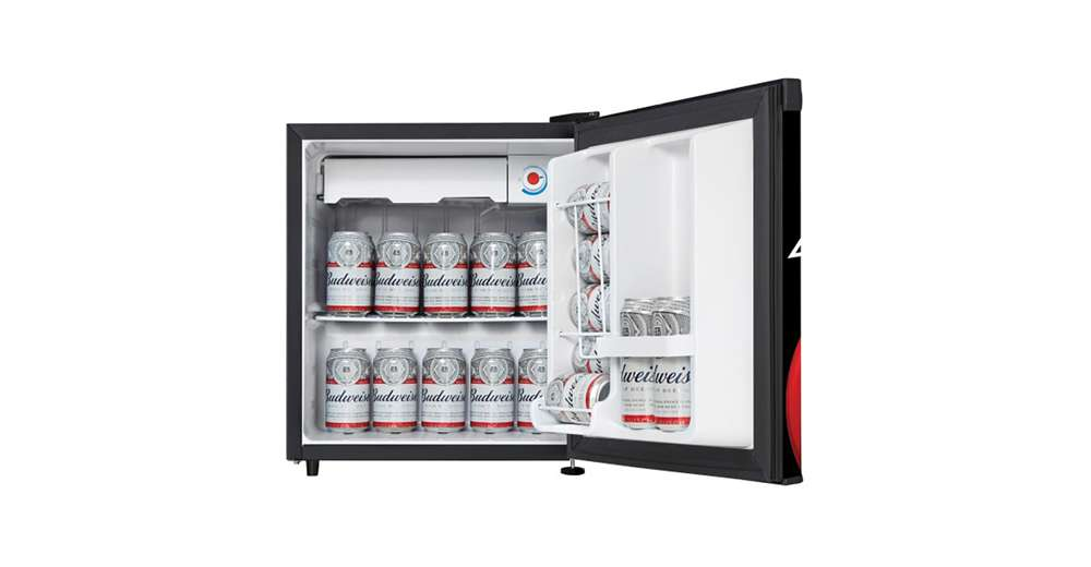 Compact Fridge For Dorm: Danby Budweiser Beer Compact Refrigerator Dorm Home