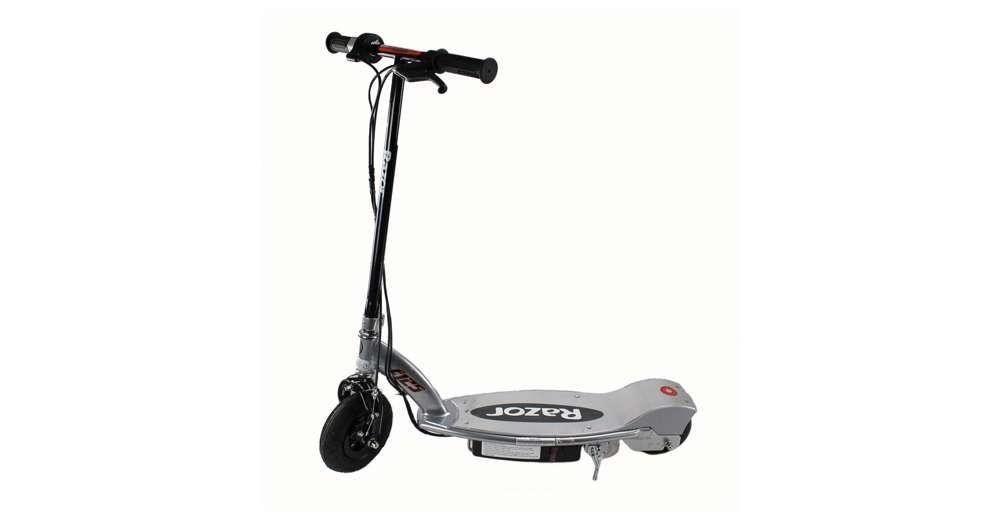 Razor e125 motorized 24 volt rechargeable battery kids for Motorized scooter black friday