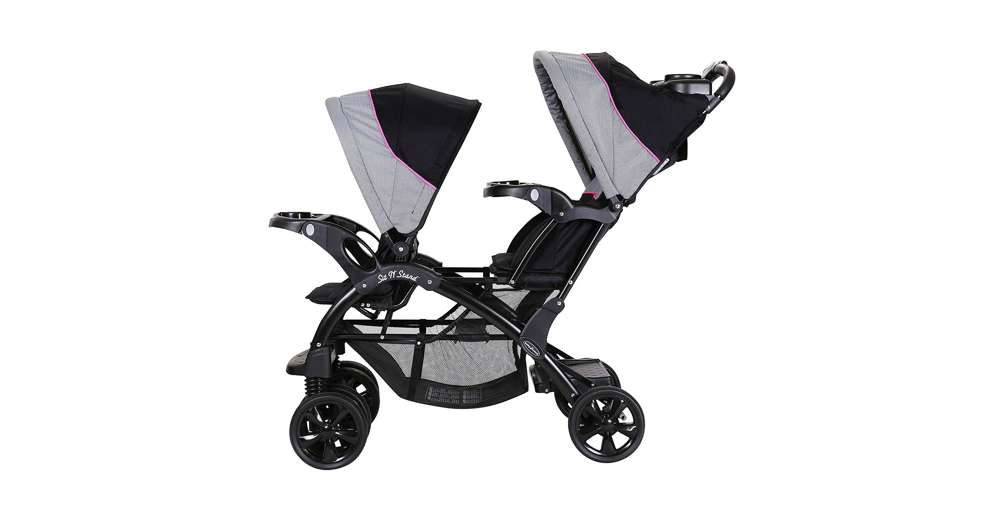 Baby Trend Sit N Stand Tandem Double 40 Lbs Stroller