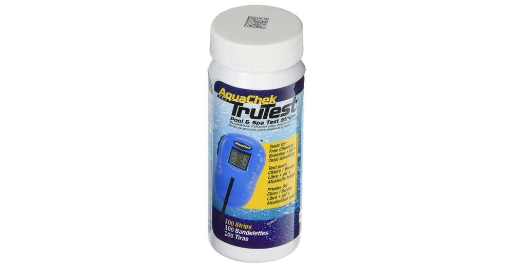 Aquachek 512138 Trutest Digital Reader Swimming Pool Spa Test Kit Strips Refill Ebay