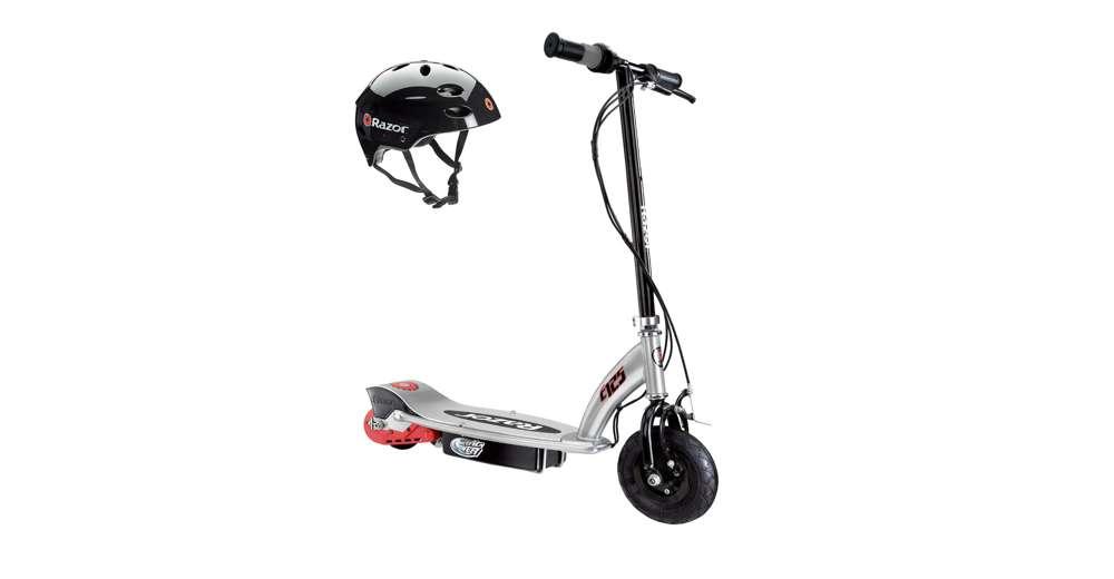 Razor e125 motorized 24 volt electric scooter black for Motorized scooter black friday