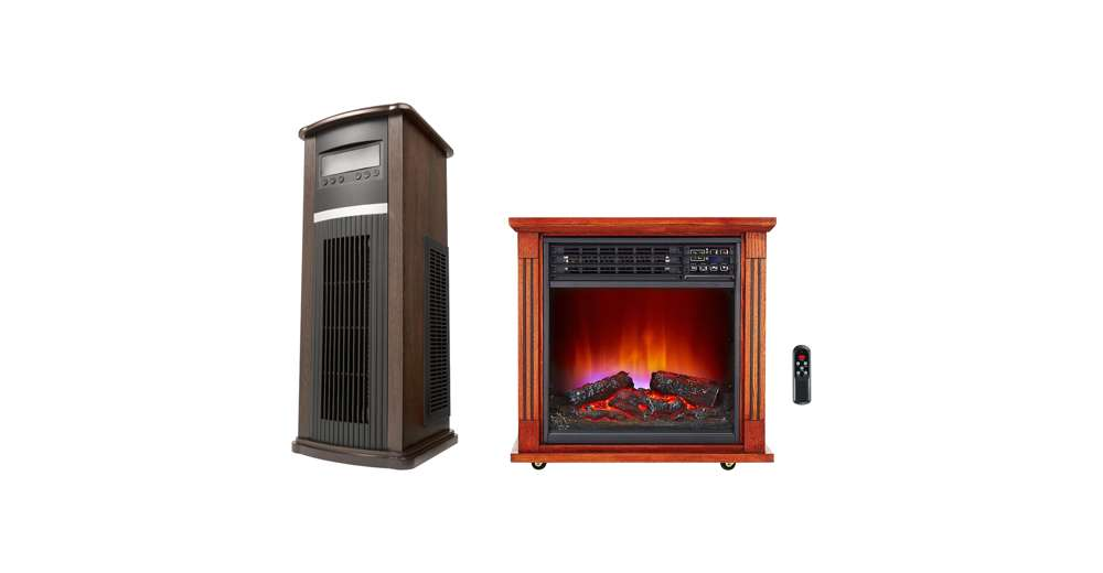 Haier Vertical Large Area Infrared Tower Heater