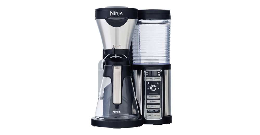 Ninja Coffee Maker With Frother : Ninja Glass Coffee Bar Machine w/ Glass Carafe & Frother + 100-Recipe Cook Book eBay