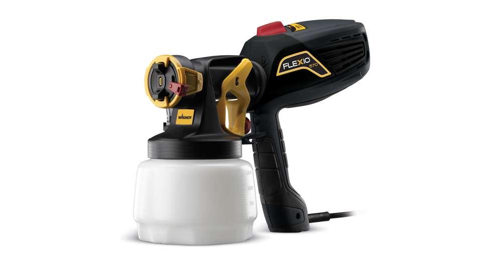 Wagner flexio 570 interior exterior hand paint sprayer - Paint sprayer for house exterior ...