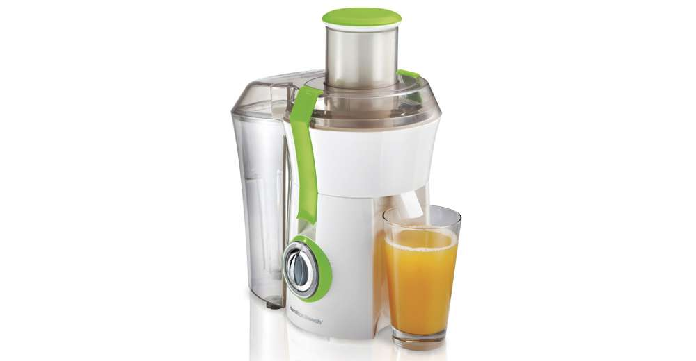 Countertop Juicer : ... Beach Powerful 800W Big Mouth Countertop Juice Extractor, Green 67602A