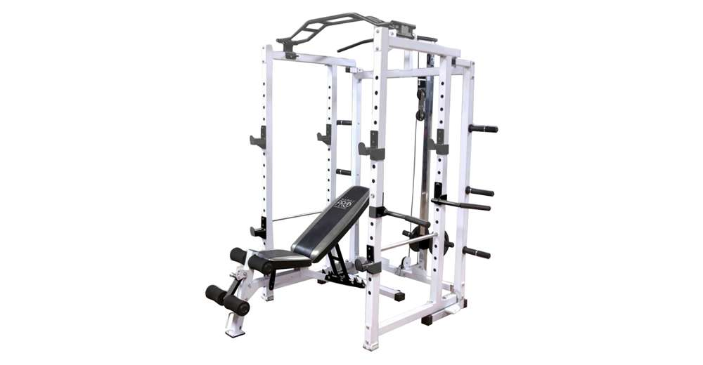 Marcy Pro Deluxe Folding Total Body Home Gym Cage Power
