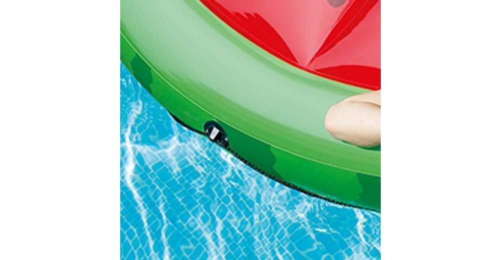 Intex giant inflatable 72 inch watermelon island swimming for Intex gartenpool