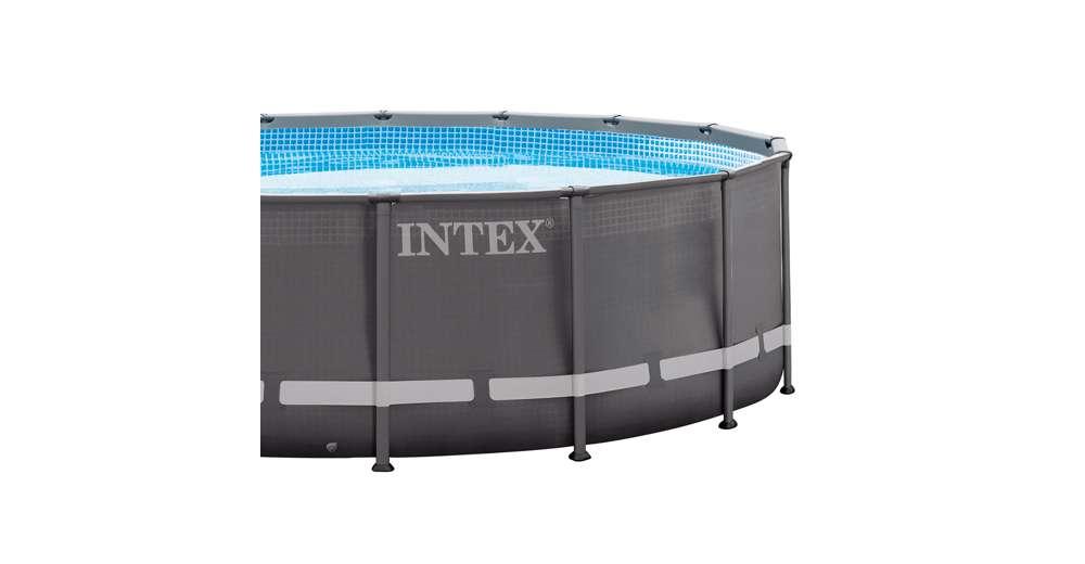 Intex 16 39 x 48 ultra frame swimming pool set w 1200 gph for Intex gartenpool