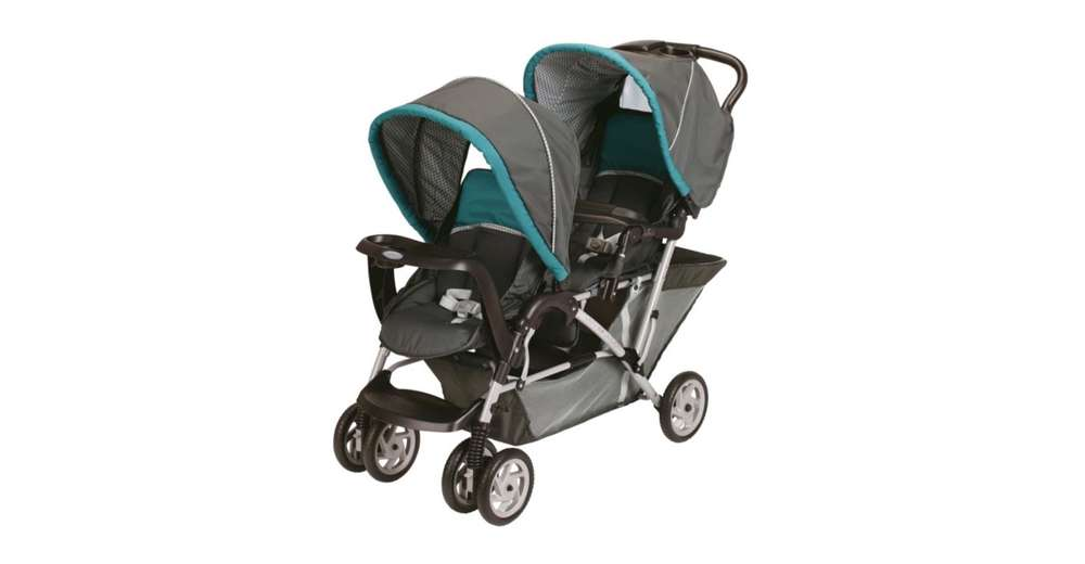 graco duoglider classic connect 2 seat double baby stroller dragonfly 1853476 ebay. Black Bedroom Furniture Sets. Home Design Ideas
