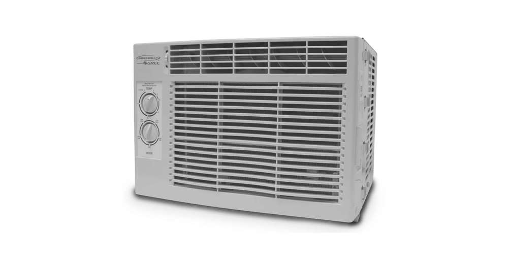 Air Conditioner Window Unit: SoleusAir 5,000 BTU 9.7 EER 115V 515 Watt Window Mount Air