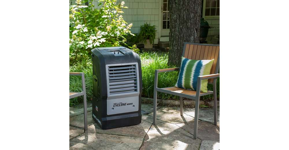 Evaporative Cooler For Pool : Portacool cyclone portable ac patio evaporative air
