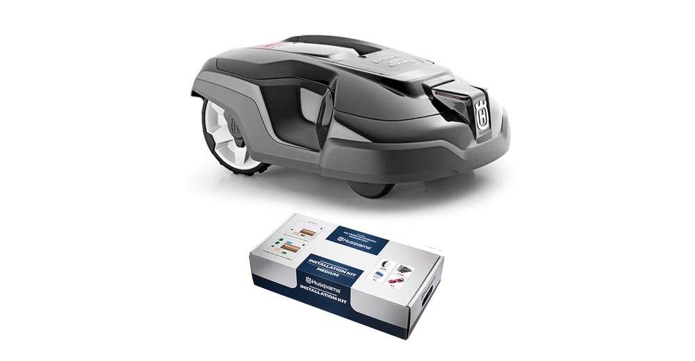 husqvarna automower 315 automatic robotic lawn mower w free medium install kit. Black Bedroom Furniture Sets. Home Design Ideas