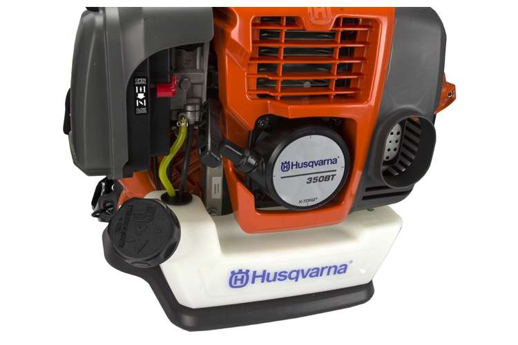 Husqvarna 350 Blower : Husqvarna bt cc cycle gas powered backpack blower