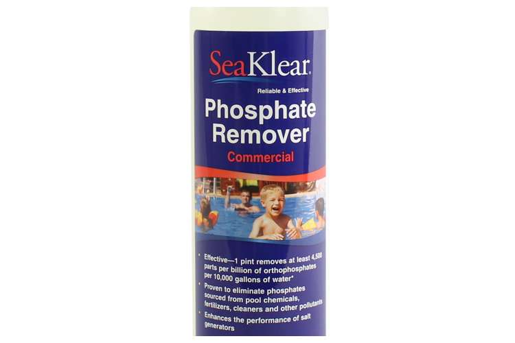 Seaklear swimming pool phosphate remover treatment 1 - Phosphate treatment for swimming pools ...