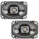 "Polk Audio DB462 4x6"" 150W 2-Way Car/Marine Coaxial Speakers"