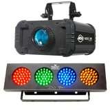 American DJ H2O IR Water Light and Chauvet Sound Active Light